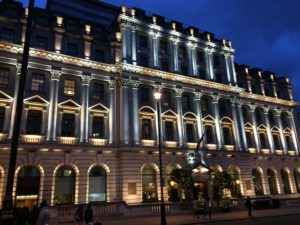 HOTELS IN LONDON - Stock image of a hotel in london - showing what hotels you can get to with london coach tours
